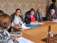 О проделанной работе за 2016 год отчитался председатель Совета – глава администрации села Гыртоп Татьяна Анатольевна Гуртовая