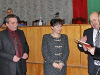 В Григориопольском районе прошла торжественная церемония награждения председателей участковых избирательных комиссий