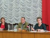 Встреча с общественностью исполняющего обязанности главы госадминистрации района и города Юрия Ларченко